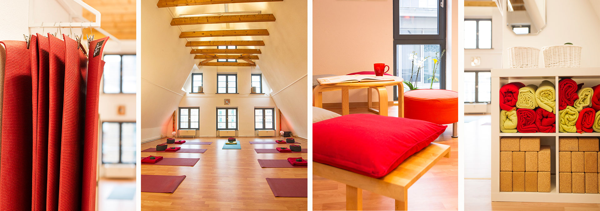 Räumlichkeiten Yogaschule Christian Bender in Rostock